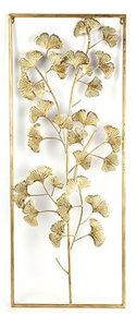 Decostar wandversiering Grazia 2,5 x 39 x 99 cm staal goud