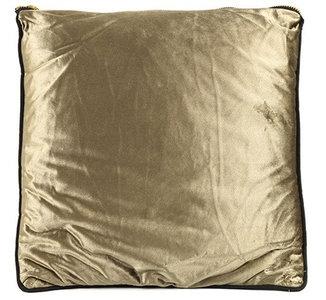 CF label decoratiekussen Valerie 45 x 45 cm textiel goud