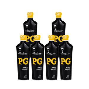 ONEGLASS | PINOT GRIGIO pakket | 6x 187ml | Een glas overheerlijke wijn