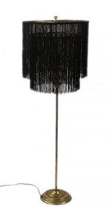 Countryfield tafellamp Amaranda 162 cm E27 staal 40 watt goud