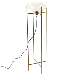 Countryfield staande lamp Fridrik 33,5 x 115,8 cm metaal brons