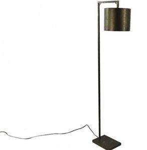 Countryfield staande lamp Margolo 160 x 44,5 cm staal zwart