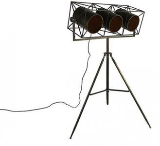 Countryfield staande lamp Laszlo 155 x 70 cm staal zwart