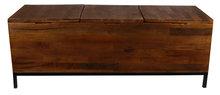 van Manen opbergbox 'Danique' met drie vakken 115x38x42 cm hout