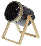 Consortio staande lamp mini-spot 40W 30 cm zwart/goud