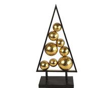 Countryfield label kerstornament Amadis 62,7 cm staal goud