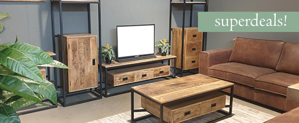 Een fantastische collectie Mangohouten meubels en accessoires